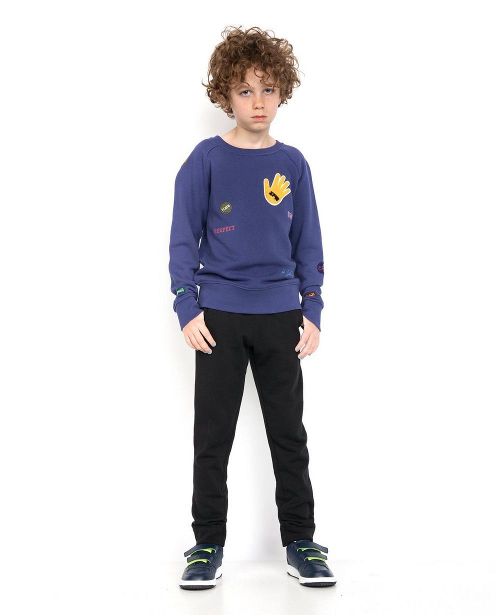 Paarsblauwe sweater - ZulupaPUWA - Unisex - Zulu Papuwa